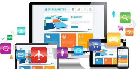 طراحی سایت با قالب گرافیکی زیبا